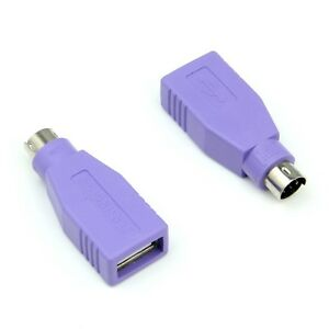 2x-USB-PS-2-PS2-Male-to-USB-A-Female-Converter-Adaptor-For-MOUSE-amp-KEYBOARD-EU