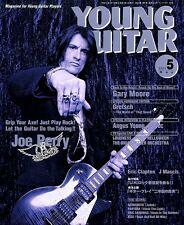 JOE PERRY AEROSMITH GARY MOORE ANGUS YOUNG GUITAR MAY 2001 MINT