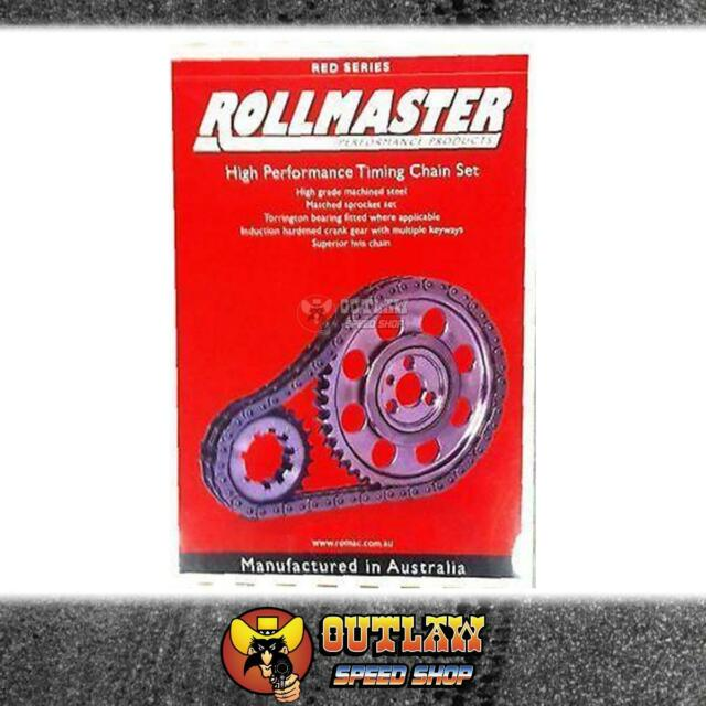 ROLLMASTER DOUBLE ROW TIMING CHAIN SET FITS FORD WINDSOR EFI 302-351 - CS3040