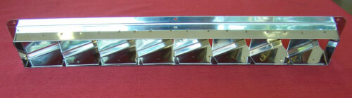"331205 Sea-Dog Line Stainless Narrow Slotted Ventilator 16-7//8/"" x 3/"" 132-1390"
