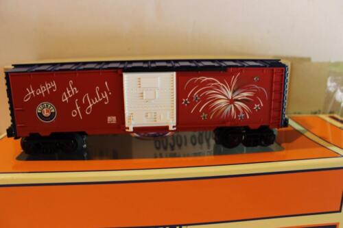 LIONEL 36769 LIONEL RAILROAD CLUB FOURTH OF JULY LIGHTED BOXCAR W70 NEW