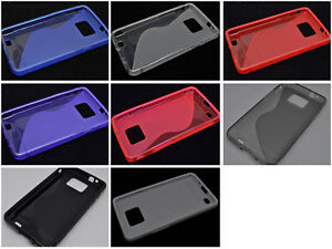 Multi-Color-S-Types-TPU-Silicone-CASE-Cover-For-Samsung-Galaxy-S-II-S2-I9100
