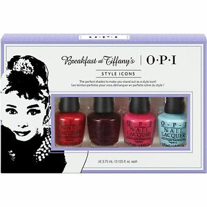 OPI Mini Breakfast at Tiffany\'s Collection Holiday 2016 Nail Lacquer ...