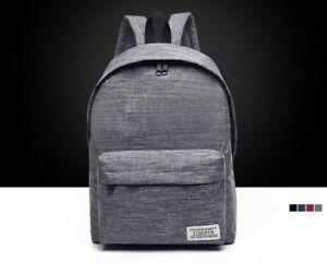 High-Quality-Women-or-Men-Canvas-Backpack-Shoulder-School-Bag-Travel