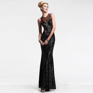 c12f0b2c2799 Caricamento dell immagine in corso vestito-lungo-abito-tubino-elegante-nero -evento-sera-