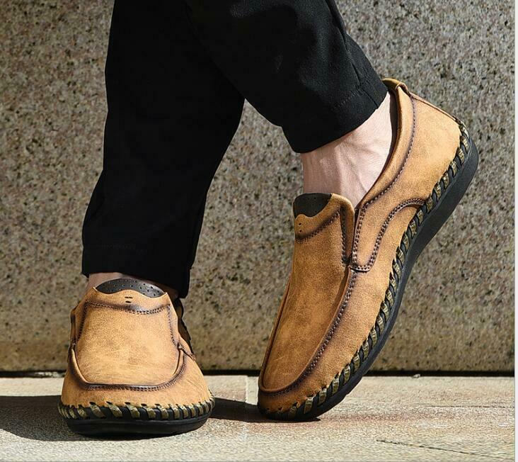 Loafers Gommino Boat shoes Low-top shoes Men shoes Casual Boat shoes Leather New
