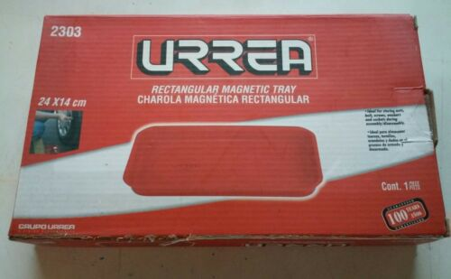 URREA 2303 Tray Rectangular Magnetic Set New 24 X 14 CM