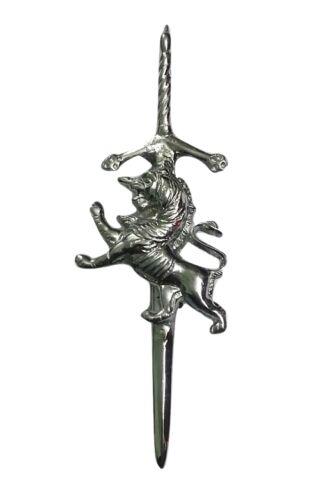 """NEUF SCOTTISH KILT PIN Divers Design Finition Chrome 4/""""//Highland Kilt Pins Broche"""
