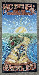 Fare Thee Well GD50 2015 Grateful Dead 1st print LE poster