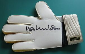 Bob-Wilson-Signed-Autographed-Goalie-Goalkeeper-Glove-Arsenal-Scotland-AFTAL