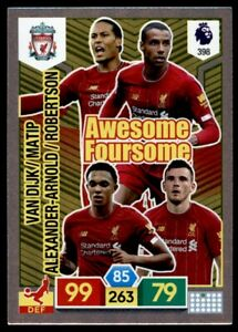 Panini-Premier-League-Adrenalyn-XL-19-20-Liverpool-AWESOME-FOURSOME-No-398