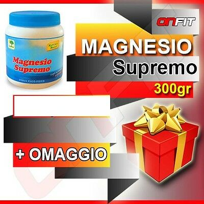 Magnesio Supremo Natural Point 300 g  + OMAGGIO - SUPER OFFERTA !