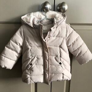 5a759e90f603 H M Baby Padded Puff Jacket Off White (9-12M)  34.99 Likenew!