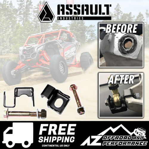 Assault Industries Radius Rod Double Shear Brackets 2017-2020 Can Am Maverick X3