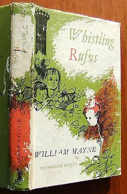 Whistling Rufus William Mayne Raymond Briggs 1965 hb dj vintage book