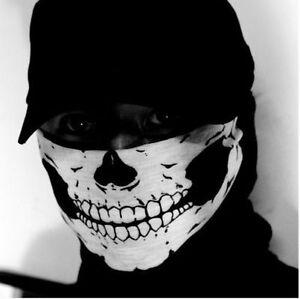 Totenkopf-Halstuch-Skull-Snowboard-Ski-Tuch-Biker-Gangster-Bandana-Schlauchtuch