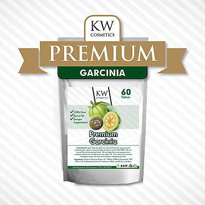 100% Pure Garcinia Cambogia Extract 70% HCA Weight Loss Diet Pills Fat Burner
