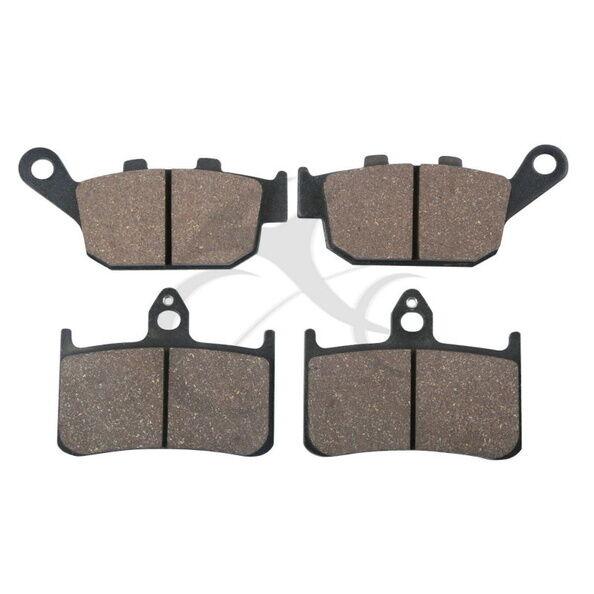 Front Rear Brake Pads For HONDA CB250 FT HORNET NSR 250 NTV 400 600 BROS