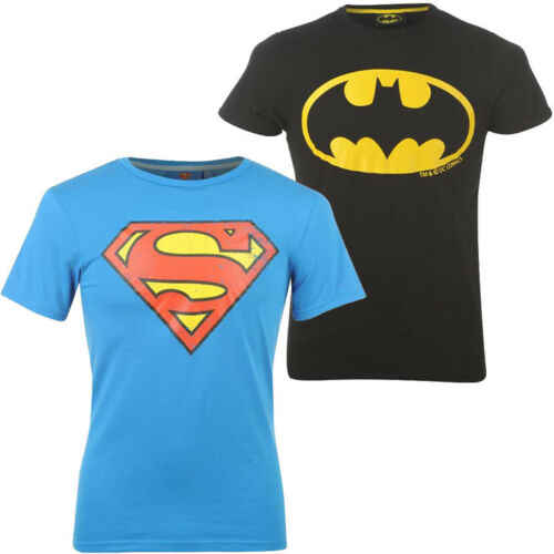 Homme Dc Comics Batman Superman Logo Caractère T-Shirt S M L XL 2XL 3XL 4XL Neuf