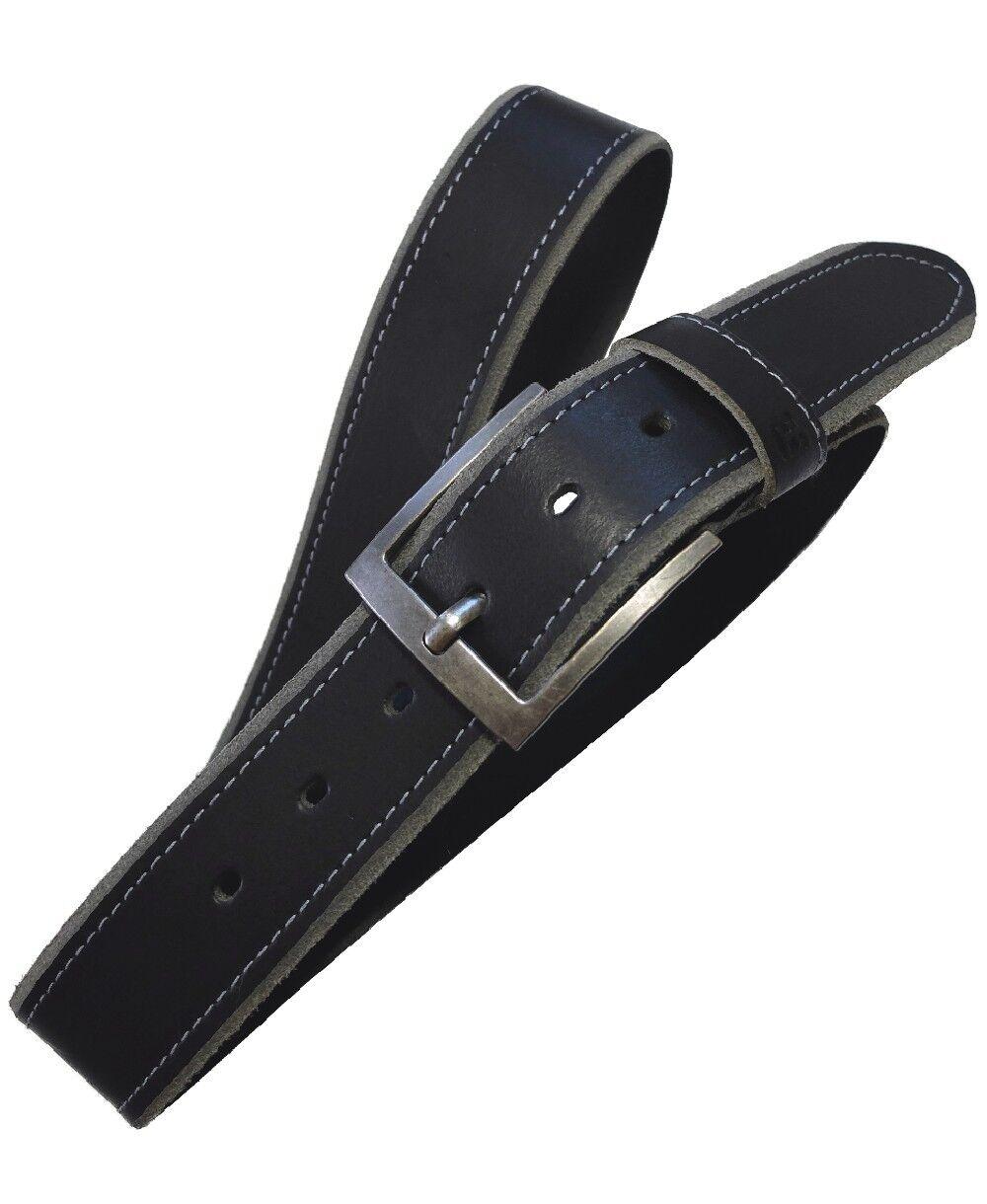Hattric Hattric Hattric maskuliner Herren Ledergürtel in schwarz und braun kürzbar 120 cm | Sale Outlet  63a34f