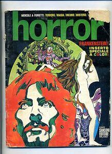 HORROR-Anno-2-N-9-Agosto-1970-Gino-Sansoni-Editore