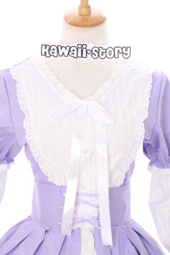 L viola purple cosplay gothic lolita abito costume dress Rokoko M-516 taglia M