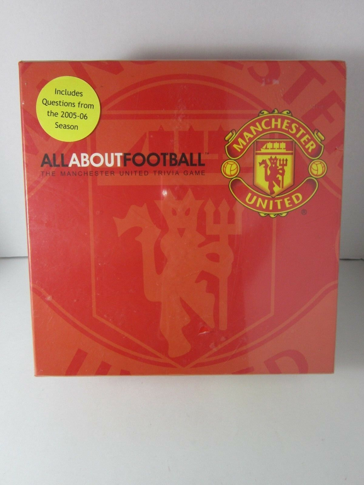 All About Football Manchester United Trivia Game. Brand New Sealed   Rare