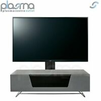 Alphason Chromium Grey Cantilever Tv Stand For Up To 50 Tvs