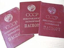 Reisepass Pass Ausweis UdSSR Sowjetunion Russland Ukraine паспорт СССР загран