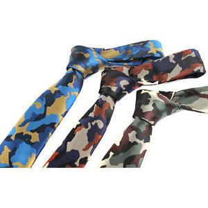 Men 6cm skinny thin camouflage neck tie army military camo necktie image is loading men 6cm skinny thin camouflage neck tie army ccuart Images