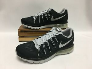 cce939ee0b943 Nike Air Max Excellerate 5 Running Shoes Black Silver 852692-001 ...