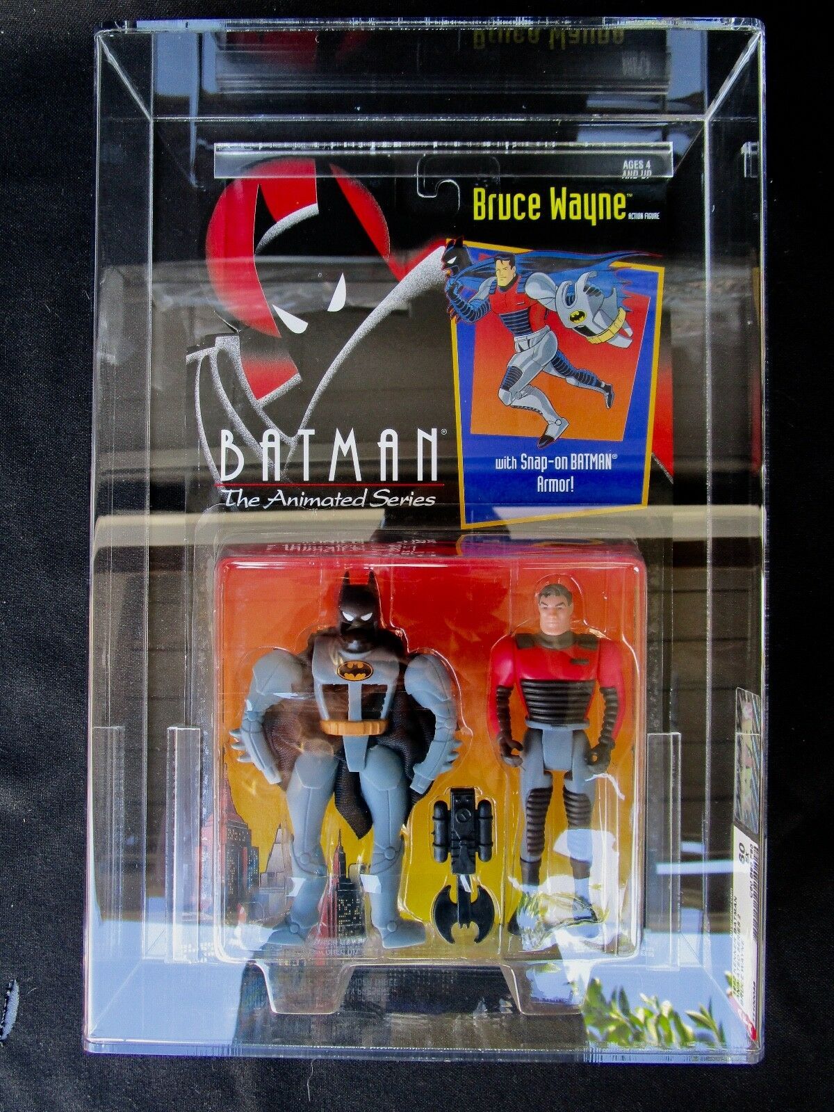 Batman Animated Series   Bruce Wayne   Sealed AFA Graded