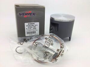 Vertex-Piston-Kit-KTM-EXC-300-Single-Ring-Inc-Pin-amp-Clips-2004-14-Size-A-71-94mm