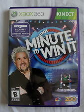 Microsoft XBOX 360 Kinect - MINUTE TO WIN IT - Video GAME
