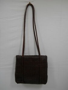 Image Is Loading Womens Nine West Leather Handbag Purse Medium Sized