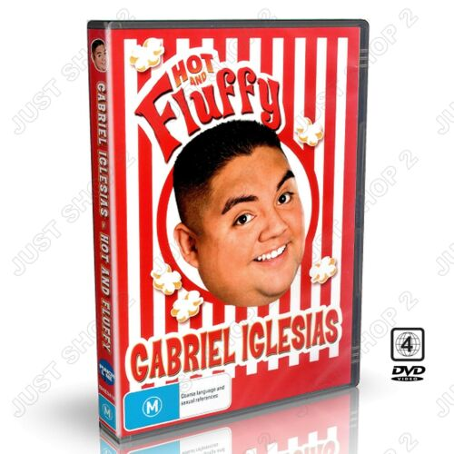 1 of 1 - Gabriel Iglesias Hot And Fluffy : New Comedy DVD
