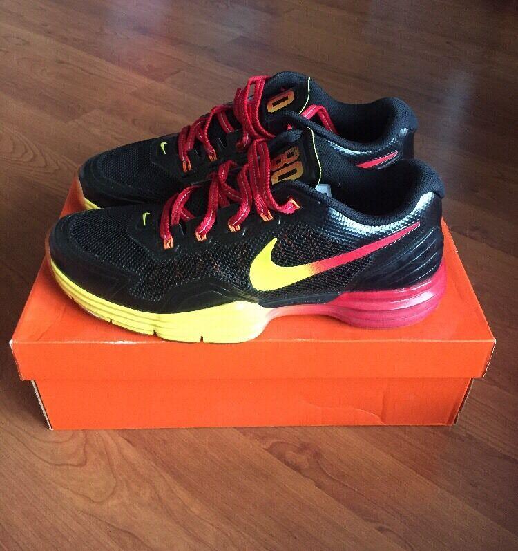 Nike lunar tr1 giocatori club victor cruz di colore rosso - arancio 559594-006 dimensioni