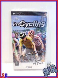 PRO CYCLING STAGIONE 2009 LE TOUR DE FRANCE PER SONY PSP PRODOTTO ITALIANO NUOVO