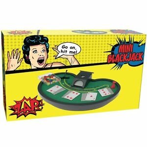 mini blackjack Dimensioni 26.2 x 17.6 x 4,6 centimetri