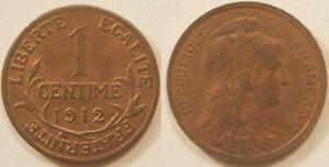 1 Centime Dupuis 1912, Spl !!