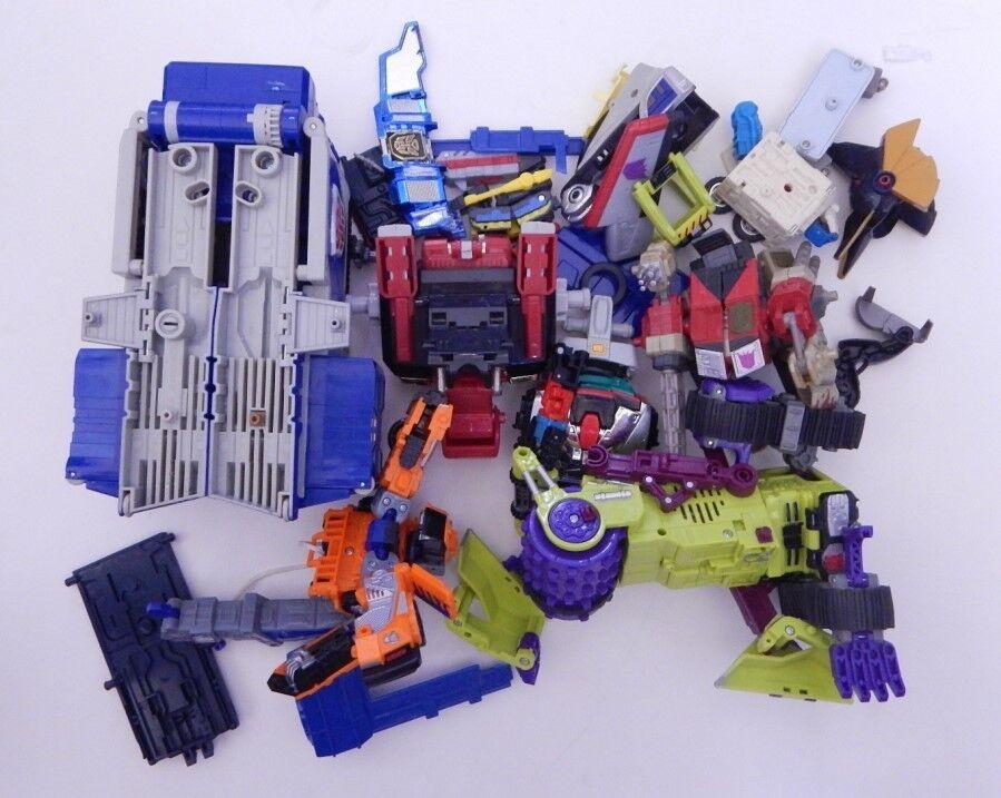 2001-2002 R15419 Lote De Piezas De Transformers Hasbro Takara