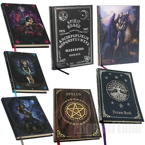 A5-EMBOSSED-JOURNALS-NOTEBOOK-DREAM-SPELL-CAT-DRAGON-NOIRE-WITCHES-LOLITA-SPIRIT