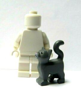 Lego 1 X Grey Cat Kitten Pet  Minifigure Figure Not Included   Series Grandma