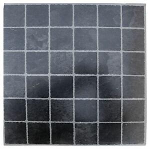 Floor-tiles-self-adhesive-Small-Black-Grey-tile-vinyl-flooring-kitchen