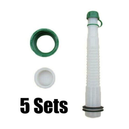 5 Sets Gas Can Fuel Spout Cap Replacement Industrial Spout Parts Practials  Kit