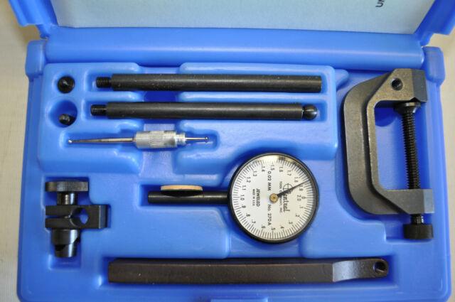 Central Tools 6400 .200 0-100mm Range Dial Indicator Set