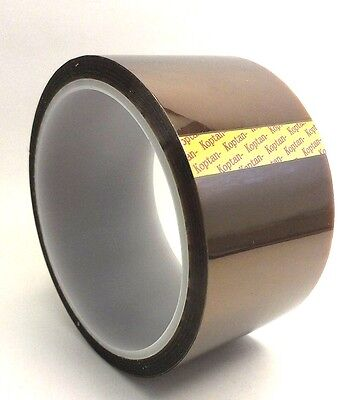 35mm x 50m Kapton Tape High Temperature Resistant Polyimide - 1pcs Film Tape