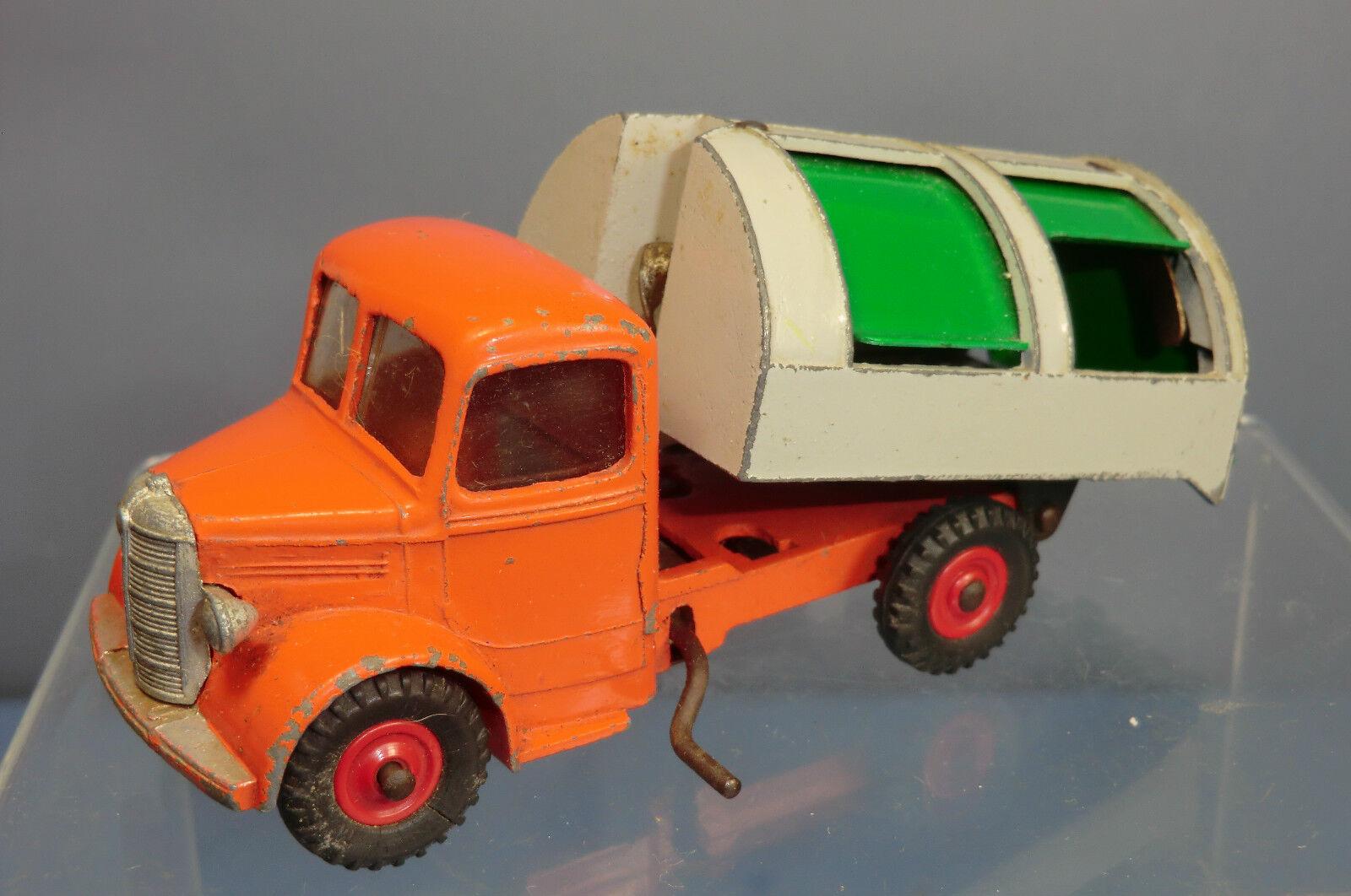 gran venta Dinky Juguetes Modelo No.252 No.252 No.252 Bedford rechazar Vagón  Naranja gris versión  Raro  ordenar ahora