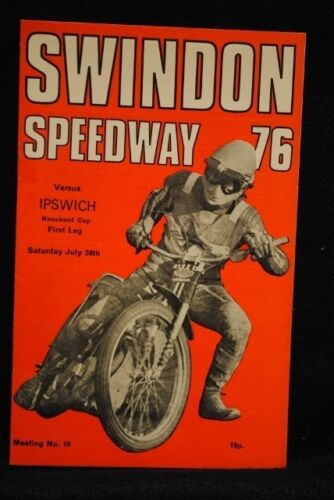 SPEEDWAY Swindon vs Ipswich 24 Jul 1976