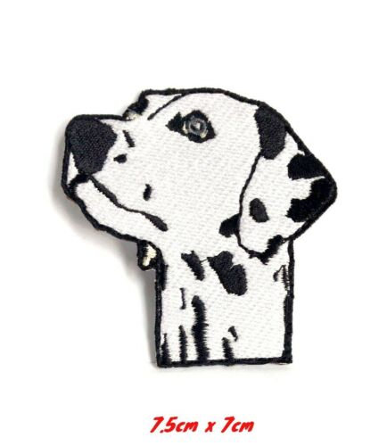 Dalmatian Dog cute animal dog Iron Sew on Embroidered Patch#824